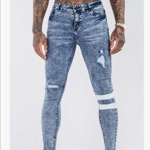 "ICON. Amsterdam ""The Glitch""  Skinny Jeans"